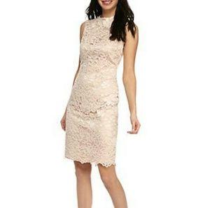 Vince camuto 》Lace Sheath Dress